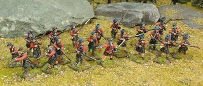 British Highlander Force - Muskets and Tomahawks - North Star Figures