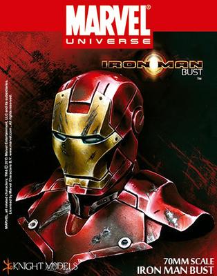 IRON MAN BUST 70mm - Marvel Knights Miniature