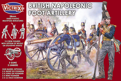 British Napleonic Foot Artillery - Victrix