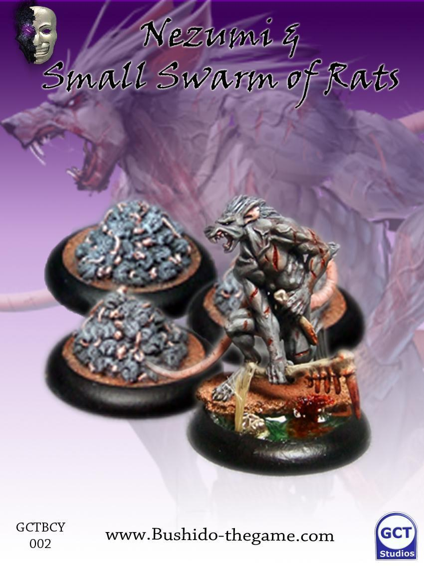 Nezumi (includes 3x small rat swarms) - Bushido