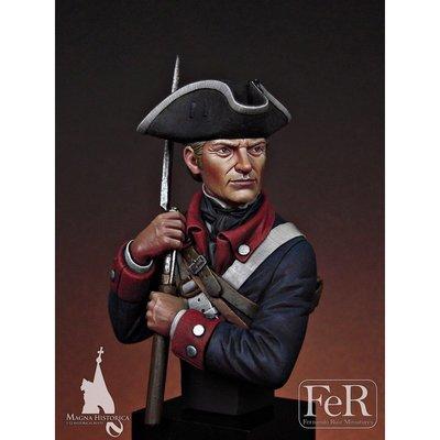 Continental Infantryman, 1st Maryland, 1781 - FeR Miniatures