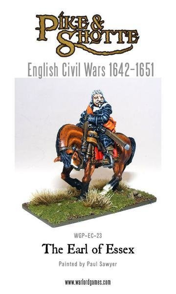 Earl of Essex - Pike & Shotte - Warlord Games