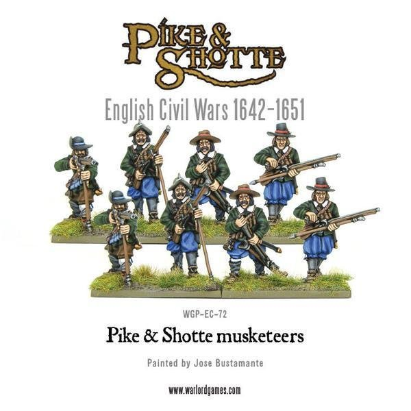 Musketeers - Pike & Shotte - Warlord Games