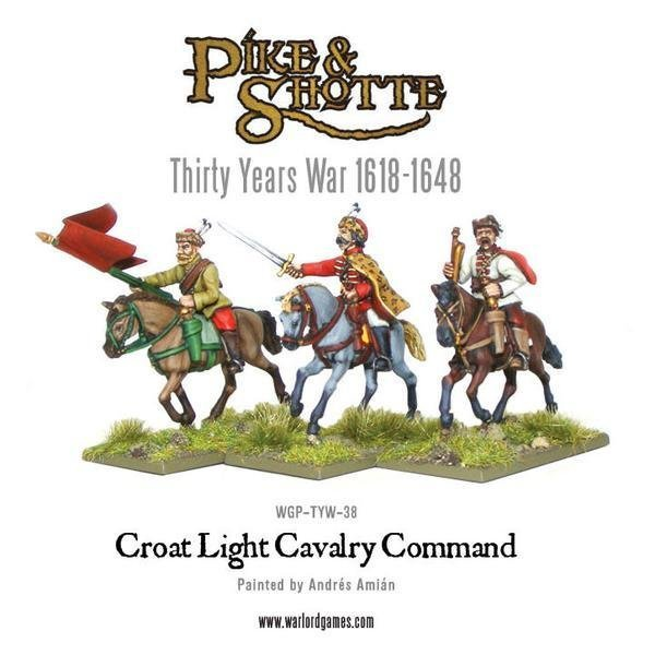 Croat Cavalry Command - Pike & Shotte - Warlord Games