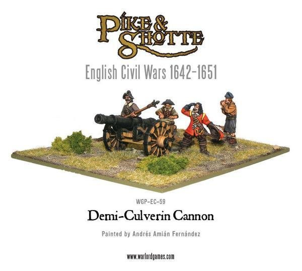 Demi Culverin Cannon & Crew - Pike & Shotte - Warlord Games