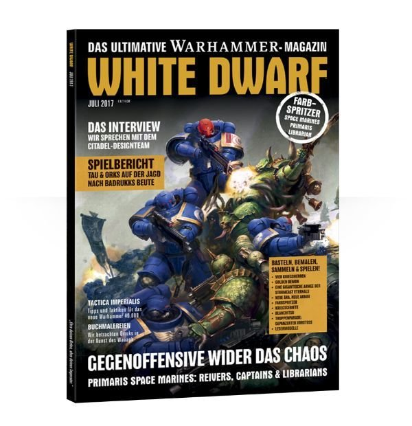 White Dwarf Juli 2017 (Deutsch) - Games Workshop