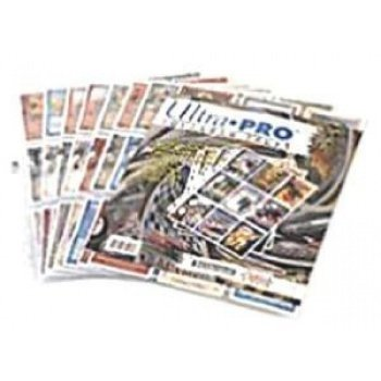 UP Ultra Pro - 9-Pocket Pages (11 Hole) Refill Pack (10 Pages) - Sichtmappen