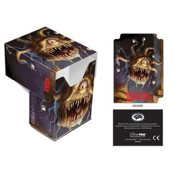 UP Ultra Pro - Full-View Deck Box - Dungeons & Dragons - Beholder