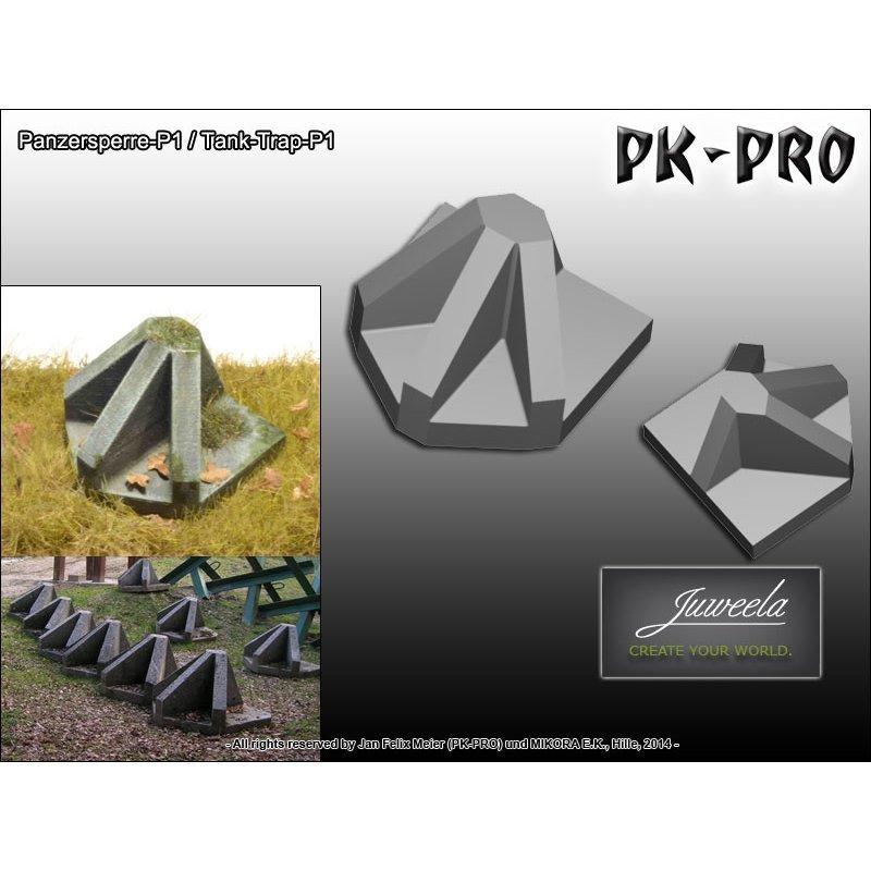 Panzersperre 1:35 - Juweela - PK-Pro