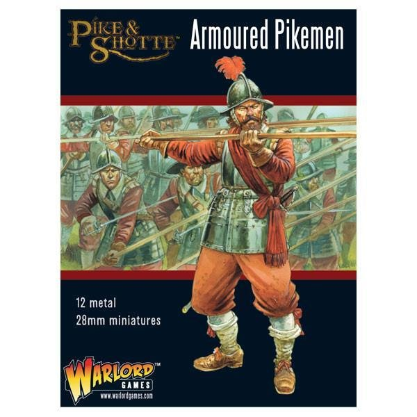 Armoured Pikemen - Pike & Shotte - Warlord Games