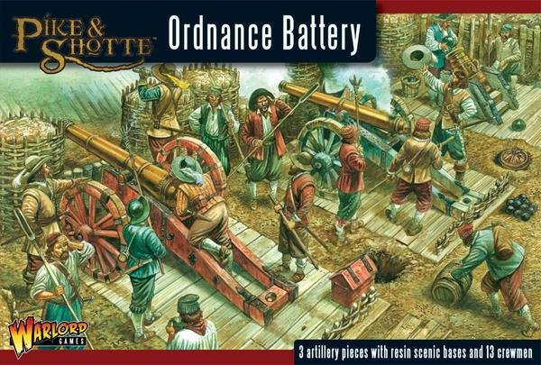 Ordnance Battery - Pike & Shotte - Warlord Games