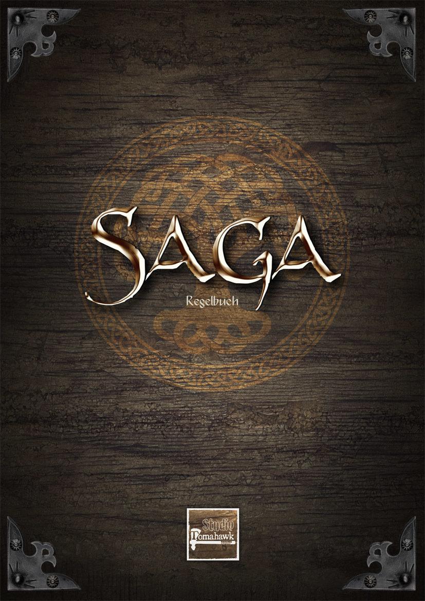 Saga 2 Regelbuch - Deutsch + FIGUR