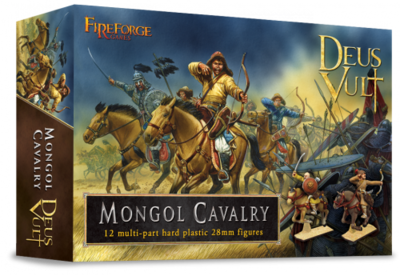 Mongol Cavalry (12) - Deus Vult - Fireforge Games