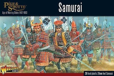 Samurai Infantry - Pike&Shotte - Warlord Games