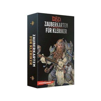 Dungeons & Dragons - Zauberkarten für Kleriker - DE