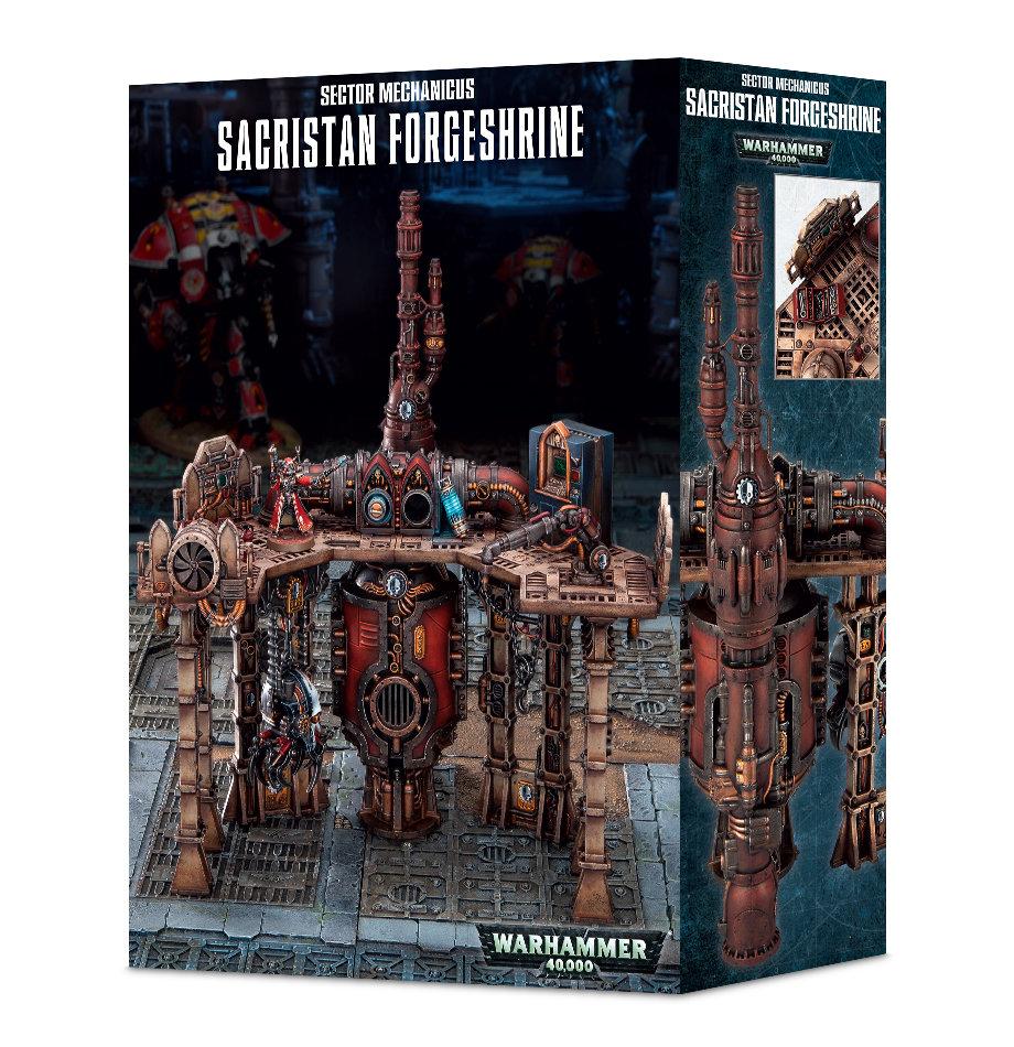 SECTOR MECHANICUS: SACRISTAN FORGESHRINE - Imperial Knights - Warhammer 40.000 - Games Workshop