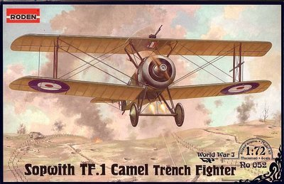 Sopwith TF.1 Camel Trench Fighter WW1 - Roden
