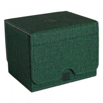 Convertible Premium Deck Box Single Horizontal 100+ Standard Size Cards - Green
