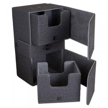 Convertible Premium Deck Box Dual 200+ Standard Size Cards - dark blue