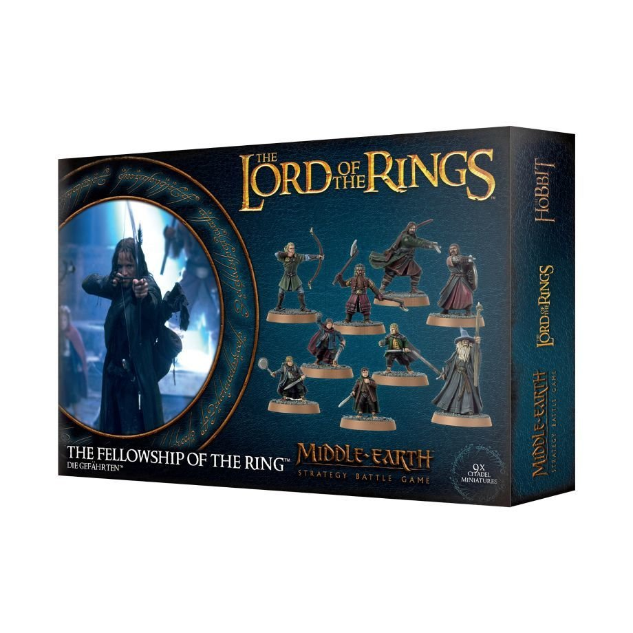 THE LORD OF THE RINGS: DIE GEFÄHRTEN - Lord of the Rings - Games Workshop