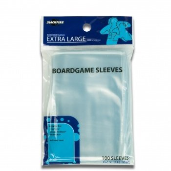 Boardgame Sleeves - Extra Large (67x102mm) - 100 Pcs