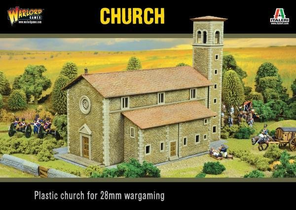 Church (Italeri) Kirche - Bolt Action - Warlord Games