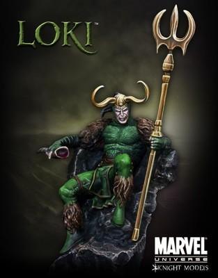 Loki 70mm - Marvel Knights Miniature