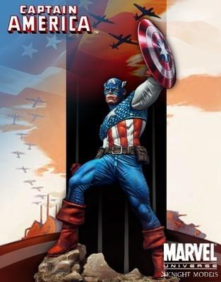 Captain America 70mm - Marvel Knights Miniature