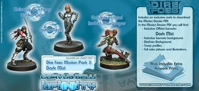 Dire Foes Mission Pack 3: Dark Mist - Mission Packs - Infinity