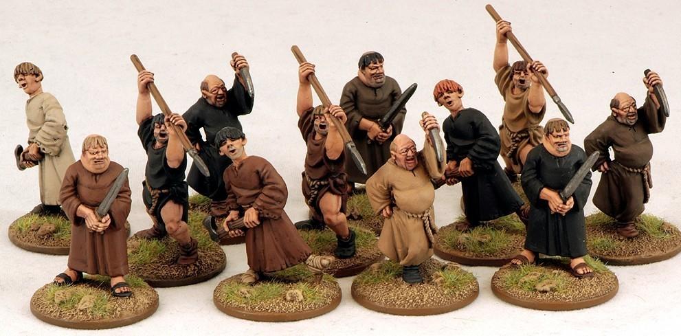 Fanatical Pilgrims (Angry Monks) Mönche - SAGA
