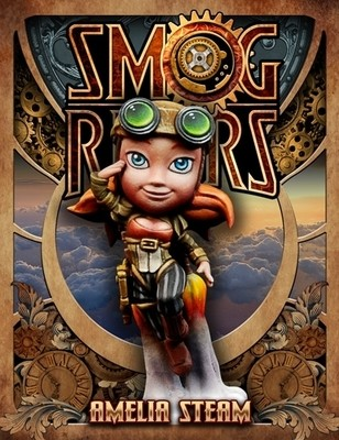 Amelia Steam - Smog Riders - Scale 75