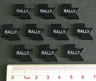Rally Tokens - Schwarz - Litko