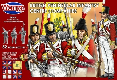 British Peninsular Infantry Centre Companies - Victrix