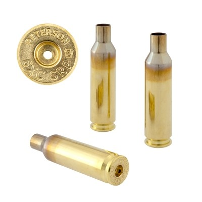 Peterson 6XC SRP Select - Box of 50 Brass Rifle Casings
