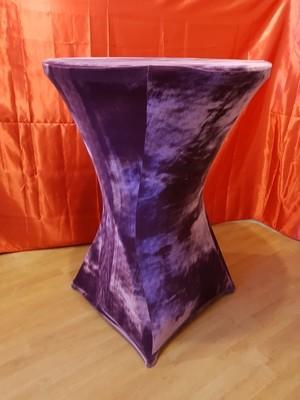 Husa pentru masa stand-up confectionata din catifea