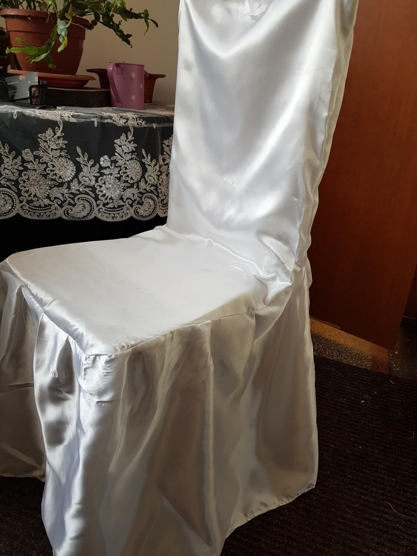 Husa personalizata scaun confectionata din satin
