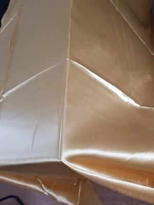 Fata masa 240x290 cm satin auriu