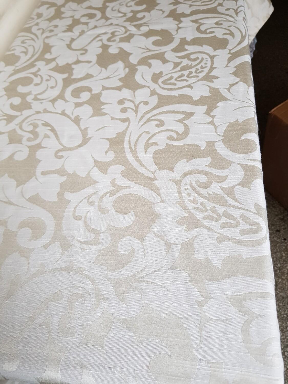 Fata masa 140x220 cm damasc ivory-crem