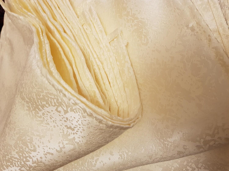 Servet 45x45 cm brocart ivory  (unt)