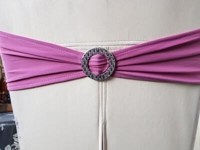Esarfe elastice roz prafuit