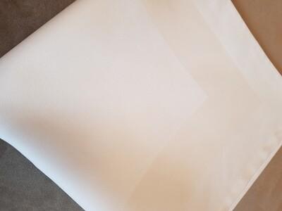 Ancăr / şervet 50x50 cm- tercot alb