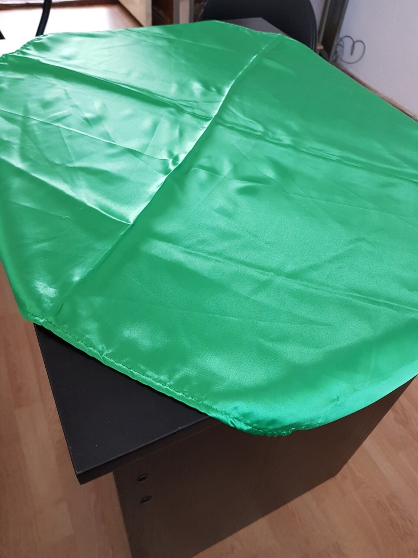 Napron 70x70 cm satin verde