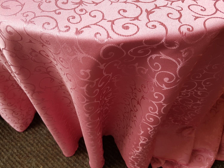 Fete masa D300 cm roz prafuit