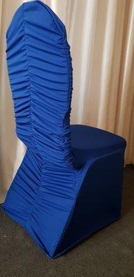 Huse elastice pentru scaune, culoarea albastru
