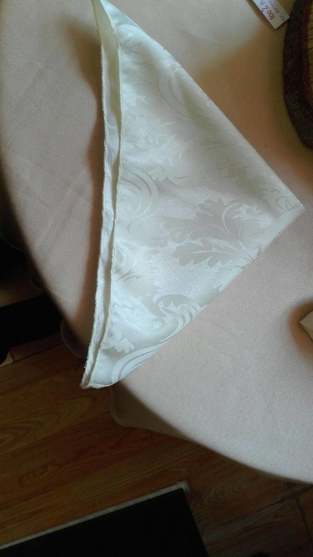 Servet jakard ivory-crem 40 x 40 cm