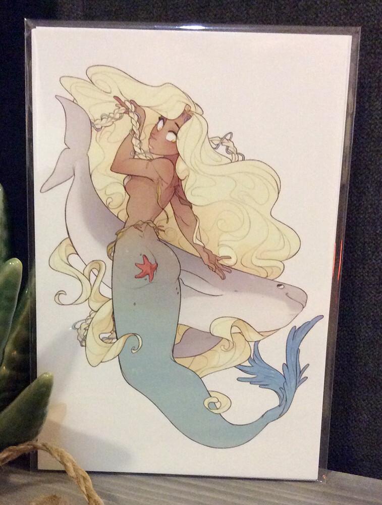 Porpoise Princess (4x6)