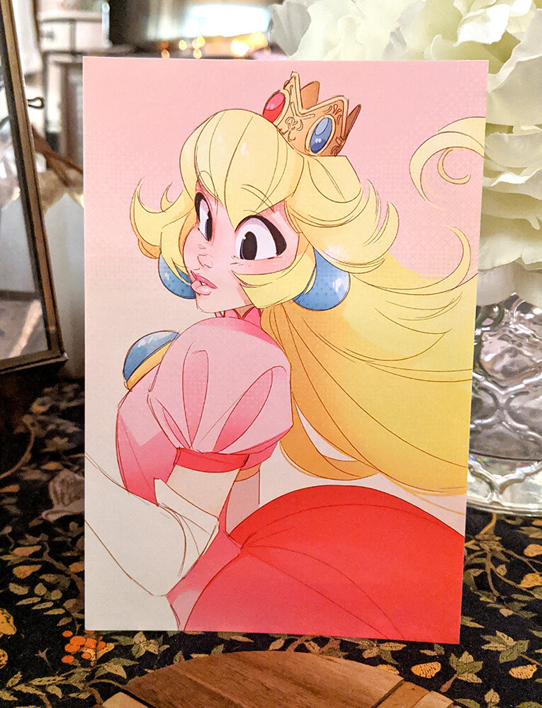 Princess Peach (4x6)