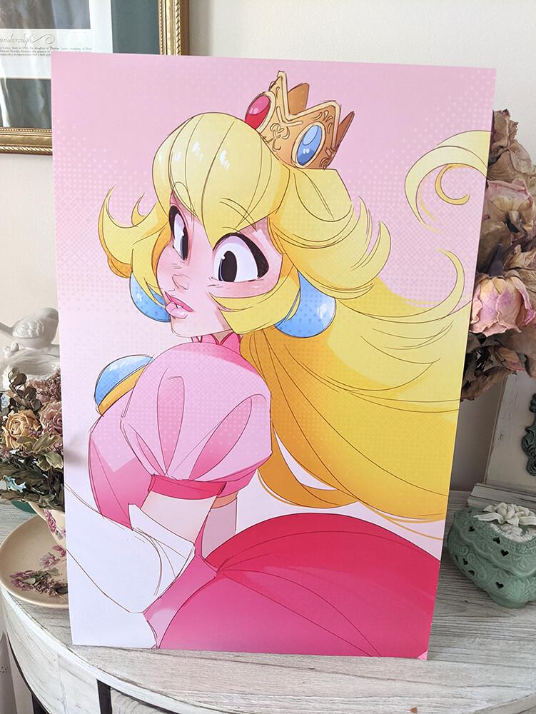 Peach (11x17)