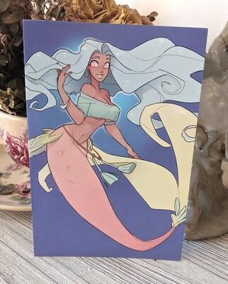 Mandy the Mermaid (4x6)