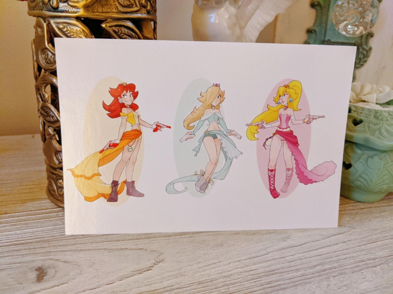 Mario Princess Gunner Trio (4x6) DISCONTINUED